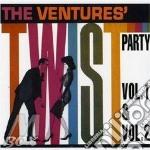 TWIST PARTY VOL.1 & 2 + 2 BONUS TRACKS cd musicale di VENTURES