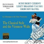 The Classical Style And The Viennese Waltz cd musicale di Miscellanee