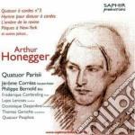 Honegger Arthur - Quartetto Per Archi N.3, Sonatina Per Violino E Violoncello, Hymne Pour Dixtuor cd musicale di Arthur Honegger