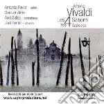 Vivaldi Antonio - Le Quattro Stagioni  - Favier Amanda  Vl/quatuor Alma, Axel Salles, Contrabbasso  Joël Pontet, Clavicembalo cd musicale di Antonio Vivaldi