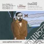 Debussy Claude / Louvier Alain - Six Epigraphes Antiques, Sonata Per Flauto, Viola E Arpa  - Gallois Patrick  Fl/pierre-henri Xuereb, Viola  Fabrice P cd musicale di Claude Debussy