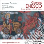 Sonate nn.1 e 2 op.26 per violoncello e cd musicale di George Enescu