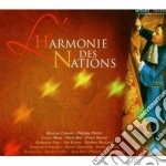 HARMONIE DES NATIONS cd musicale