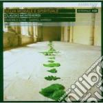 SELVA MORALE E SPIRITUALE cd musicale di Claudio Monteverdi