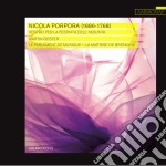 Nicola Antonio Porpora - Vespro Per La Festivita' Dell'assunta cd musicale di Porpora nicola anton