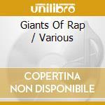 Giants of rap cd musicale