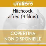 Hitchcock alfred (4 films) cd musicale di Artisti Vari