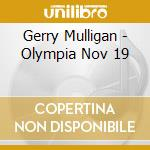 Live - olympia 1960 cd musicale di Gerry Mulligan