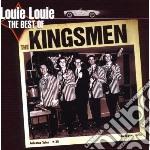 LOUIE LOUIE (THE BEST OF) cd musicale di KINGSMEN
