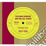 Coleman Hawkins - Timeless Jazz cd musicale di Hawkins coleman and his all-st