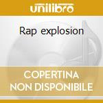 Rap explosion cd musicale