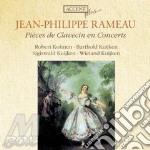 Pieces de clavecin en concertos cd musicale di Rameau jean philippe