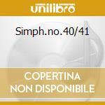 Simph.no.40/41 cd musicale di Wolfgang Amadeus Mozart