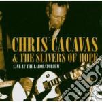 Live at the laboratorium + dvd cd musicale di Cacavas Chris