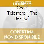 THE BEST OF cd musicale di Gege Telesforo