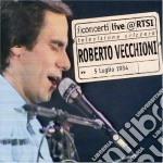 Vecchioni Roberto - Live @ Rtsi cd musicale di Roberto Vecchioni