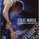 LIVE IN CONNECTICUT 2001+CRIUSE CONTROL (2CD + DVD) cd musicale di Steve Morse