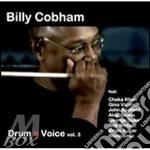 DRUM N VOICE VOL.3                        cd musicale di Billy Cobham