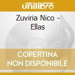 Zuviria Nico - Ellas cd musicale di Nico Zuvitia