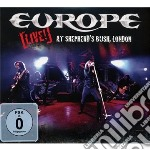 LIVE! AT THE SHEPHERD'S (cd+dvd) cd musicale di Europe