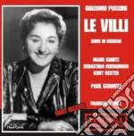 Le villi cd musicale di Puccini
