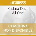 Krishna Das - All One cd musicale di Das Krishna