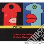 David Friedman/peter Weniger - Retro cd musicale di Friedman/peter David