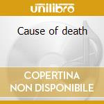 Cause of death cd musicale