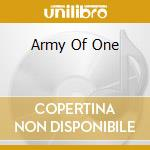ARMY OF ONE cd musicale di RIOT