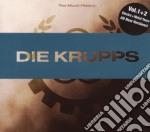 TOO MUCH HISTORY VOL.1/2                  cd musicale di Krupps Die