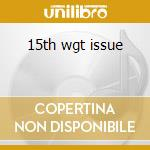 15th wgt issue cd musicale