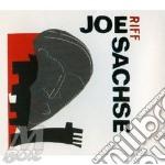 Joe Sachse - Riff cd musicale di SACHSE JOE