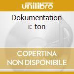 Dokumentation i: ton cd musicale