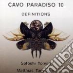 Artisti Vari - Cavo Paradiso Definitions 10 cd musicale di AA.VV.