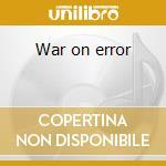 War on error cd musicale di ROTERSAND