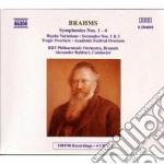 SINFONIE (INTEGRALE), VARIAZIONI SU UN T cd musicale di Johannes Brahms