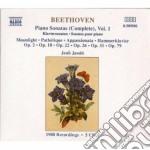 SONATE X PF (INTEGRALE) VOL.1 (5 CD): CH cd musicale di Beethoven ludwig van