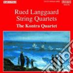 QUARTETTI PER ARCHI cd musicale di Rued Langgaard