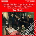 Danish golden age piano trios cd musicale di Miscellanee