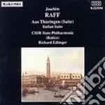 AUS THURINGEN (SUITE), ITALIAN SUITE cd musicale di Joachim Raff