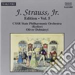 EDITION VOL. 5: INTEGRALE DELLE OPERE OR cd musicale di Johann Strauss