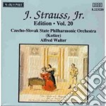 Strauss Johann - Edition Vol.20: Integrale Delle Opere Orchestrali cd musicale di Johann Strauss