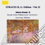 EDITION VOL.21: INTEGRALE DELLE OPERE OR cd musicale di Johann Strauss