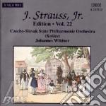 EDITION VOL.22: INTEGRALE DELLE OPERE OR cd musicale di Johann Strauss