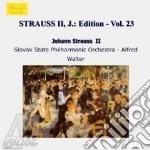 Edition vol.23: integrale delle opere or cd musicale di Johann Strauss