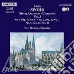 QUARTETTI X ARCHI VOL.3 (INTEGRALE): N.1 cd musicale di Louis Spohr