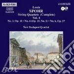 QUARTETTI X ARCHI VOL.4 (INTEGRALE): N.3 cd musicale di Louis Spohr