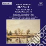 Bennett - Sestetto X Pf E Archi Op.8, Sonata Duo X Vlc E Pf Op.32  - Prunyi/Falvay/Kertesz  cd musicale di BENNETT