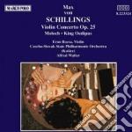 CONCERTO X VL OP.25, MOLOCH (TRAGEDIA MU cd musicale di SCHILLINGS