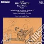 OPERA X PF INTEGRALE VOL.1: TANZSTUCKE O cd musicale di Paul Hindemith